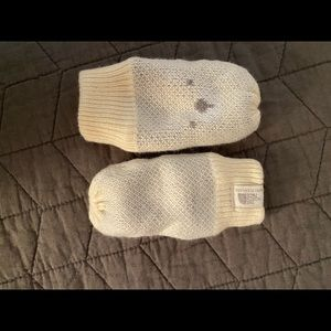 North face baby mittens